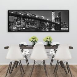 Framed 20 x 60 - City under the night