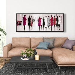 Framed 20 x 60 - Walk