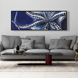 Framed 20 x 60 - Dancing octopus
