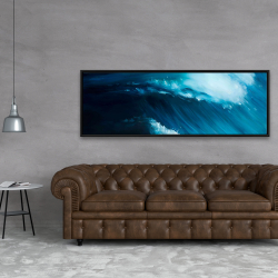 Framed 20 x 60 - Unleashed sea