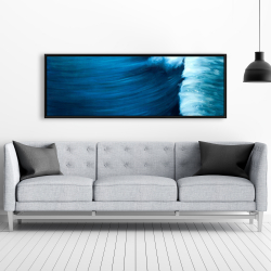 Framed 20 x 60 - Wave