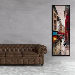 Framed 20 x 60 - European alley
