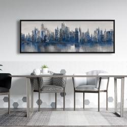 Framed 20 x 60 - Melancholy city
