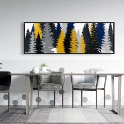 Framed 20 x 60 - Golden fir