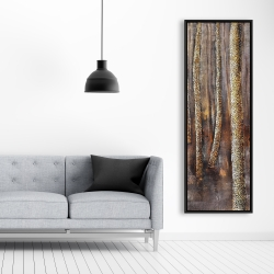 Framed 20 x 60 - The dark forest