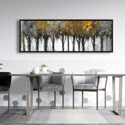 Framed 20 x 60 - Illuminated forest