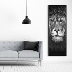 Framed 20 x 60 - Lion portrait