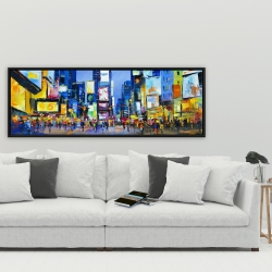 Framed 20 x 60 - Cityscape in times square