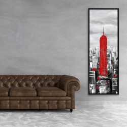 Framed 20 x 60 - Empire state building of new york