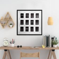 Framed 24 x 24 - Windows