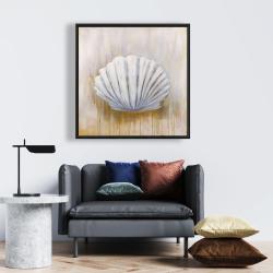 Framed 24 x 24 - Feston shell
