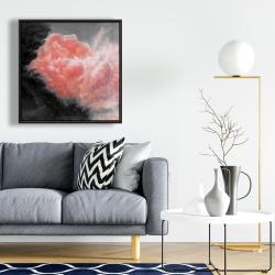 Framed 24 x 24 - Dark clouds