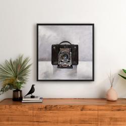 Framed 24 x 24 - Old camera