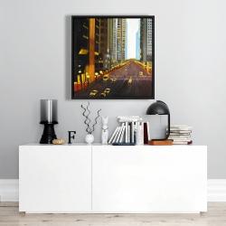 Framed 24 x 24 - New york city 9th street