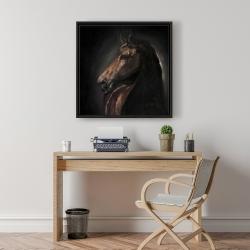 Framed 24 x 24 - Spirit the horse