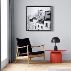Framed 24 x 24 - Historical buildings