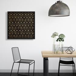 Framed 24 x 24 - Symmetry