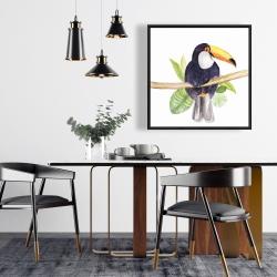 Framed 24 x 24 - Toucan