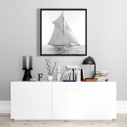 Framed 24 x 24 - Sailing ship