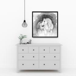 Framed 24 x 24 - Beauty