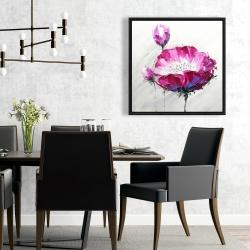 Framed 24 x 24 - Fuchsia wild flower
