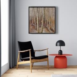 Framed 24 x 24 - Forest