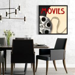 Framed 24 x 24 - Film on poster