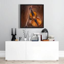 Framed 24 x 24 - Alto violin