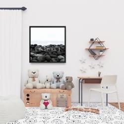 Framed 24 x 24 - Inspire