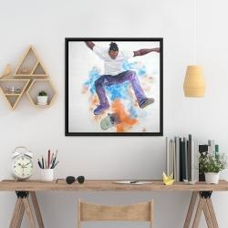 Framed 24 x 24 - Skater
