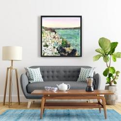 Framed 24 x 24 - Landscape of crete