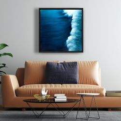 Framed 24 x 24 - Wave