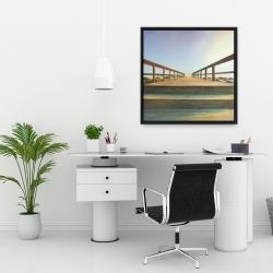 Framed 24 x 24 - Footbridge