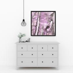 Framed 24 x 24 - Purple