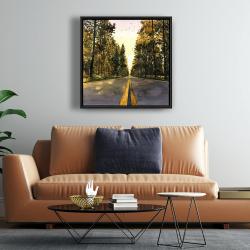 Framed 24 x 24 - Long road