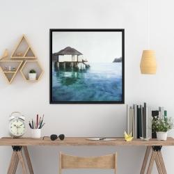 Framed 24 x 24 - Dream travel