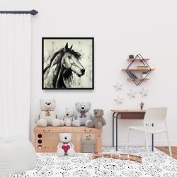 Framed 24 x 24 - Spirit horse