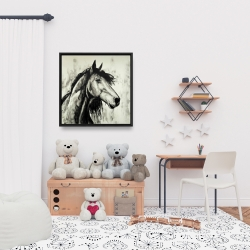 Framed 24 x 24 - Spirit horse