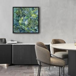 Encadré 24 x 24 - Succulents abstrait