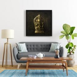 Framed 24 x 24 - Lord ganesha