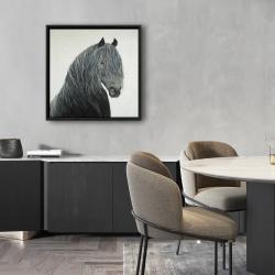 Framed 24 x 24 - Wild heart