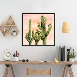 Encadré 24 x 24 - Cactus weberocereus