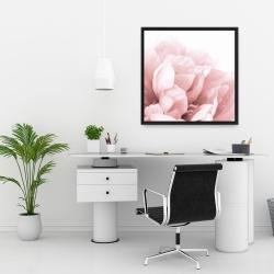 Framed 24 x 24 - Peony flower dream