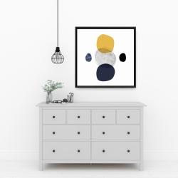 Framed 24 x 24 - Spheres