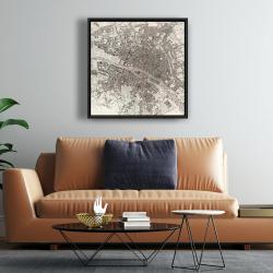 Framed 24 x 24 - Paris