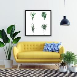 Framed 24 x 24 - Fine herbs