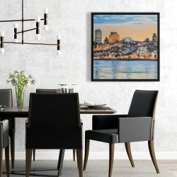 Framed 24 x 24 - Skyline of quebec city