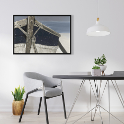 Framed 24 x 36 - Bateau