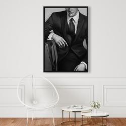 Framed 24 x 36 - Businessman