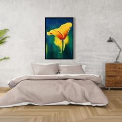 Framed 24 x 36 - Superb contrast flowers